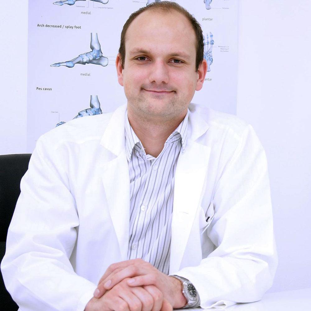 doc. dr. Matjaž Merc, dr.med., specialist ortoped